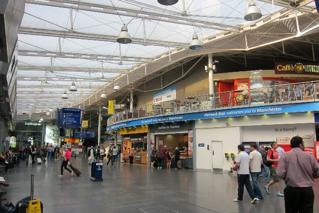 Manchester Piccadilly Station