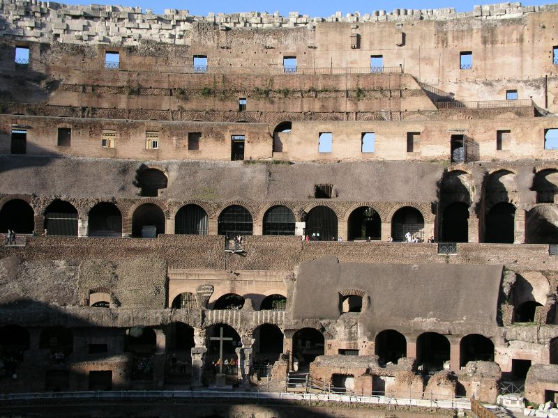 Das Colosseum in Rom