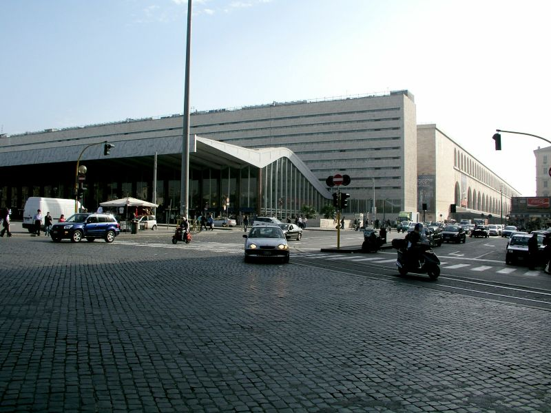 Rom anreise verkehr orientierung for Affitto ufficio roma stazione termini
