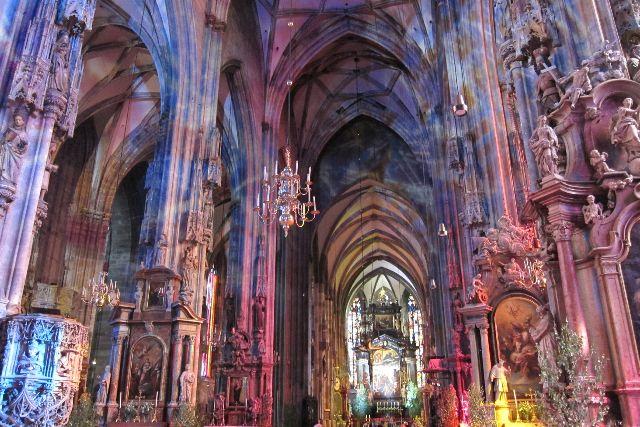 Der Stephansdom im Wien