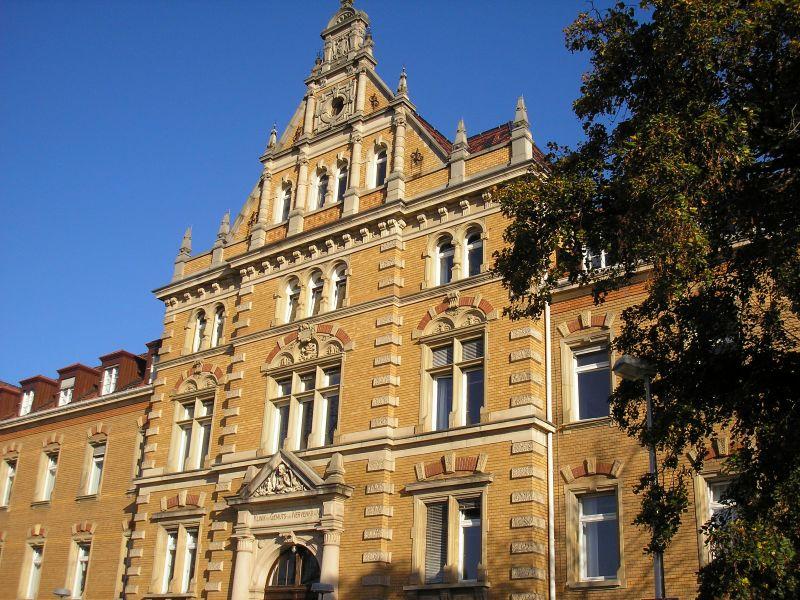 Nervenklinik, heute Psychiatrische Universitätsklinik in Tübingen