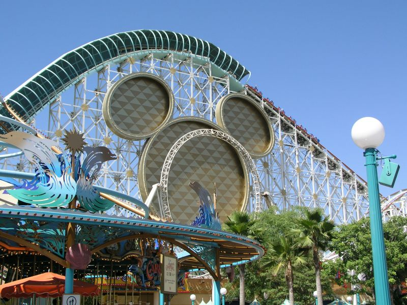 California Screamin' im Disney's  Adventure Park Anaheim